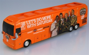 Prevost XLII ESPN College Football Gameday Replica