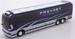 Prevost XLII Blue / Silver Factory Demo