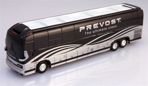 The Black / Chrome Prevost XLII Factory Demo